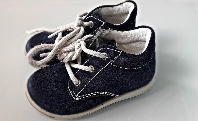 pierwsze buty dla dziecka - buciki