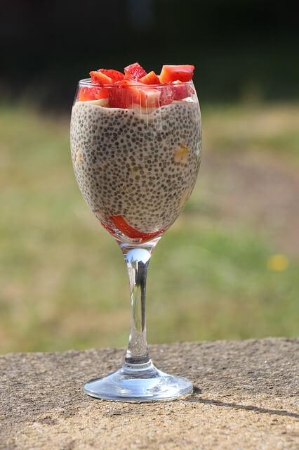 Pudding Chia - szklanka