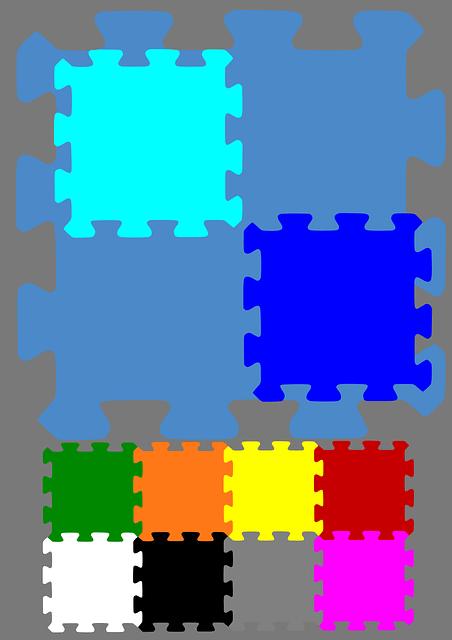 maty do zabawy - puzle